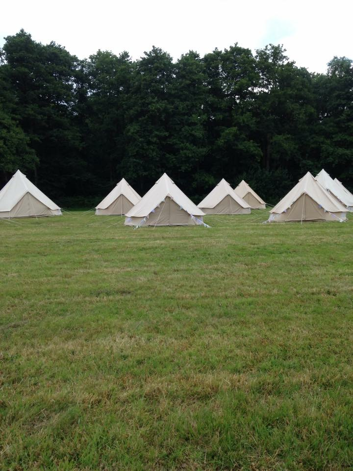 Bell Tent Village Glamping Hire