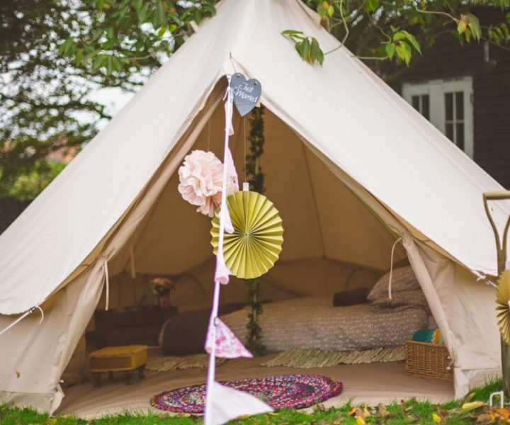 Honeymoon Suite Bell Tent. Image www.ryanbaldwinphotography.com