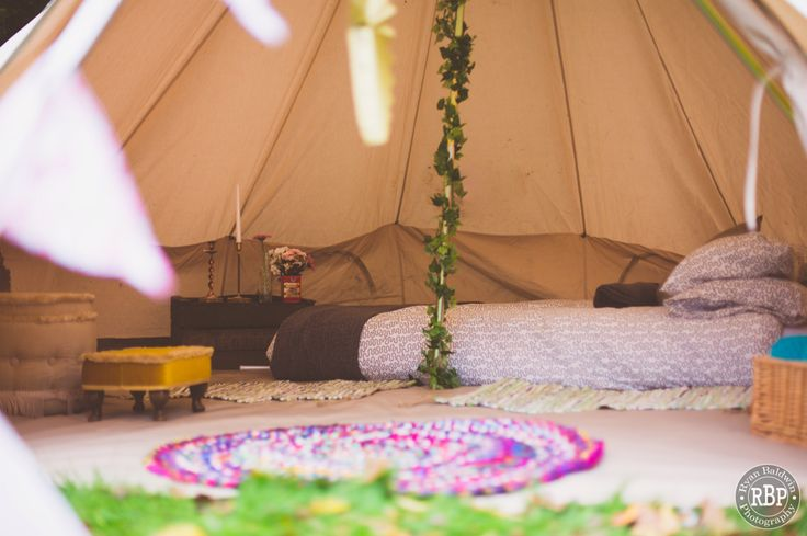 Bell Tent Glamping Hire