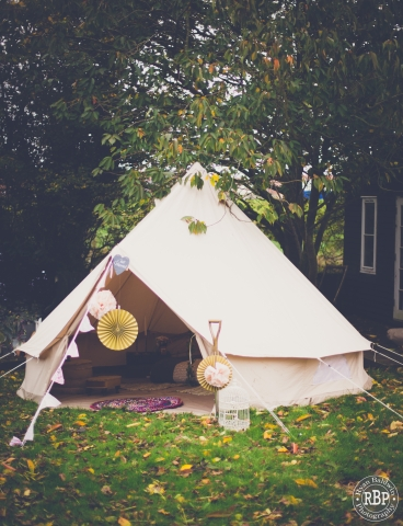 Honeymoon Bell tent