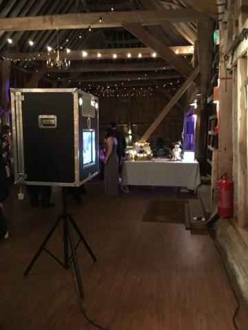 Vintage Photo Booth Barn