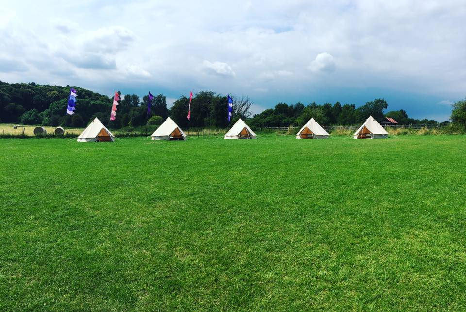 Bell Tent Village Hire