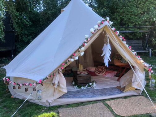 Chill Out Bell Tent Hire In Sussex, London, Kent, Essex and Surrey