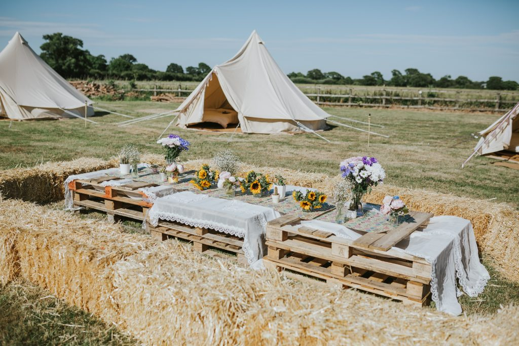 Hen Party Bell Tent
