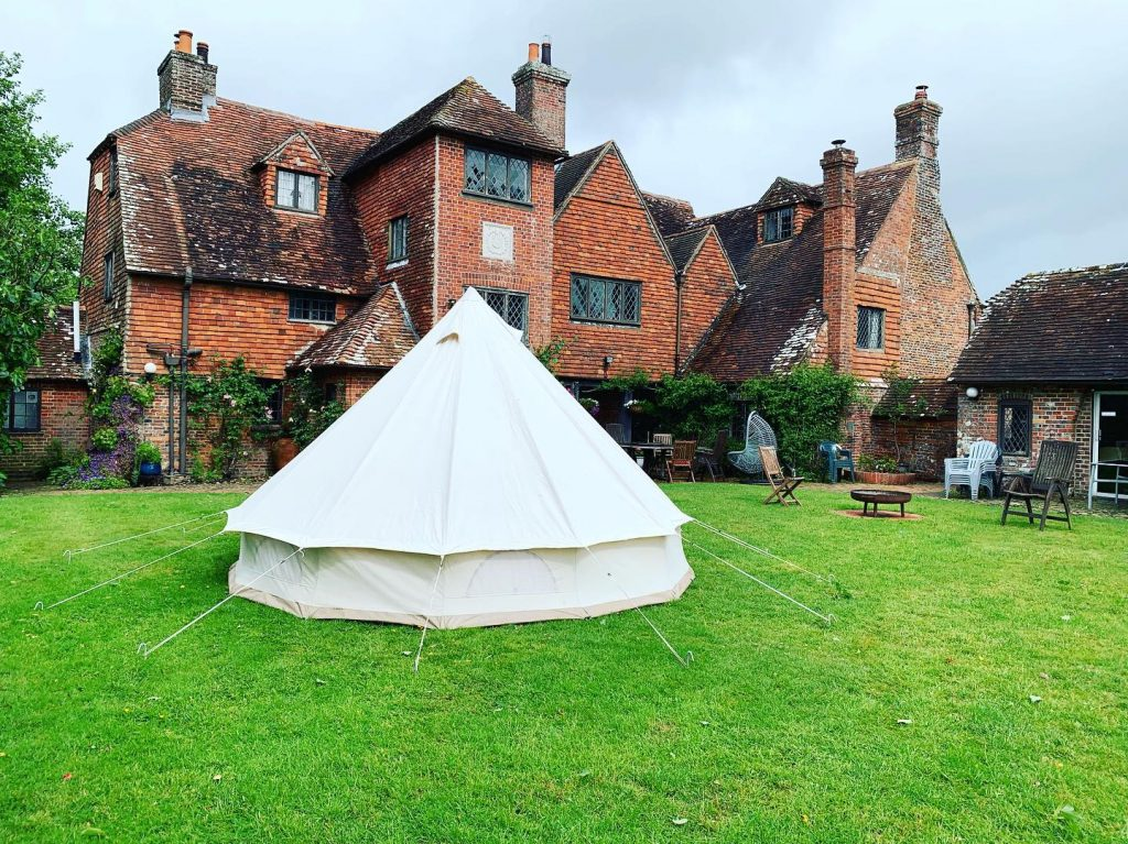 HEN PARTY BELL TENT HIRE