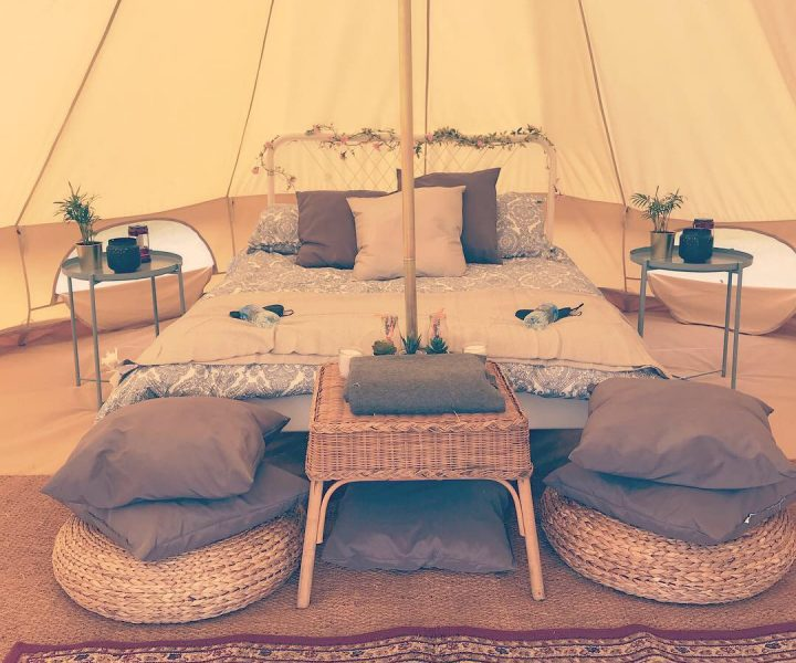 Honeymoon Suite Bell Tent