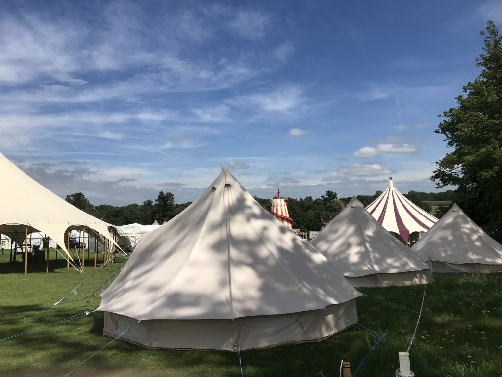 FESTIVAL BELL TENT HIRE