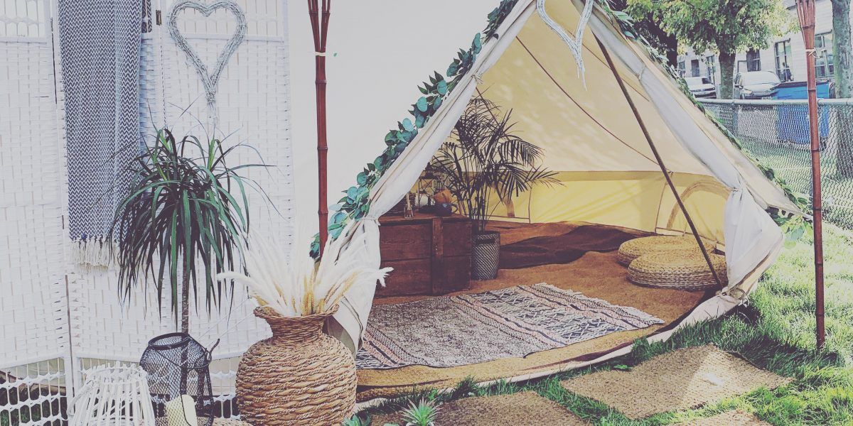 Luxury Bell Tent Hire Sussex