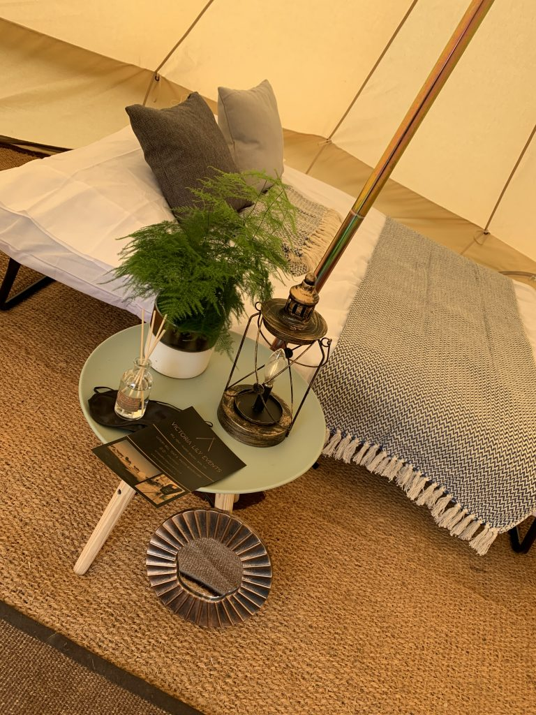 Luxury Guest Bell Tent Hire Sussex