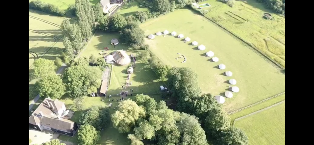 Bell Tent Drone