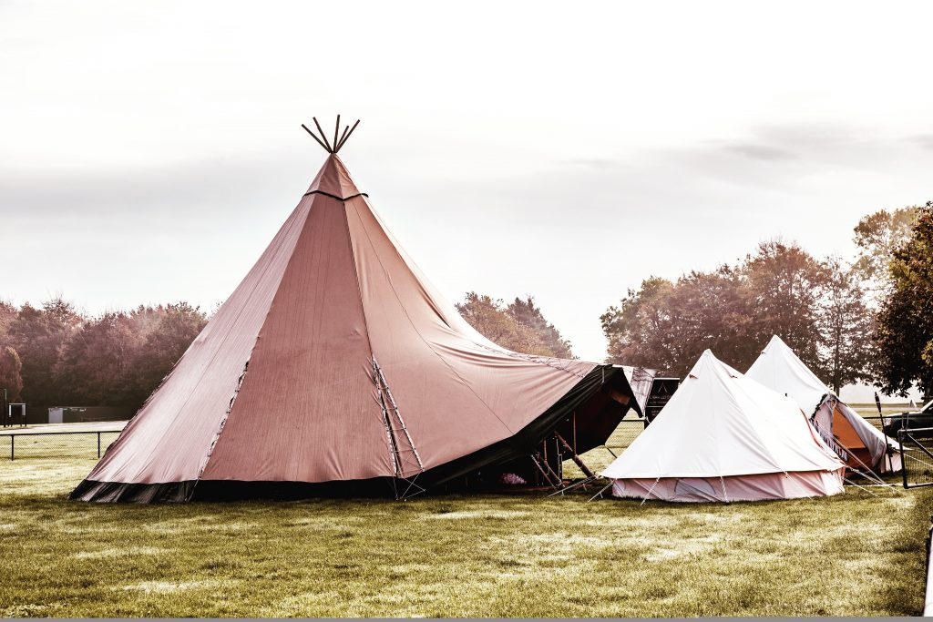 Bell Tent With Tipi