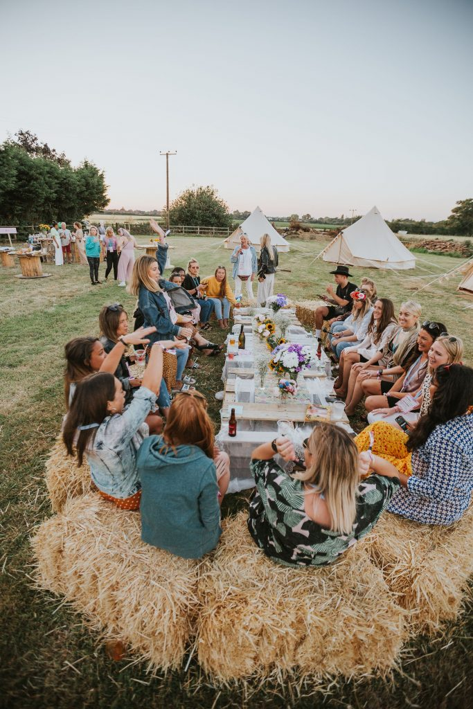 Glamping Hen Party Essex