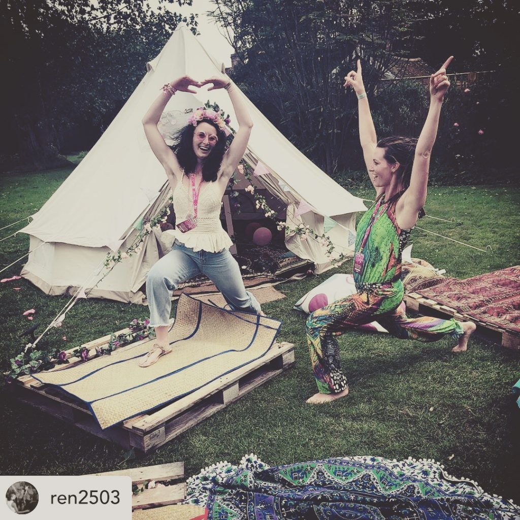 Hen Party Bell Tent Hire Sussex