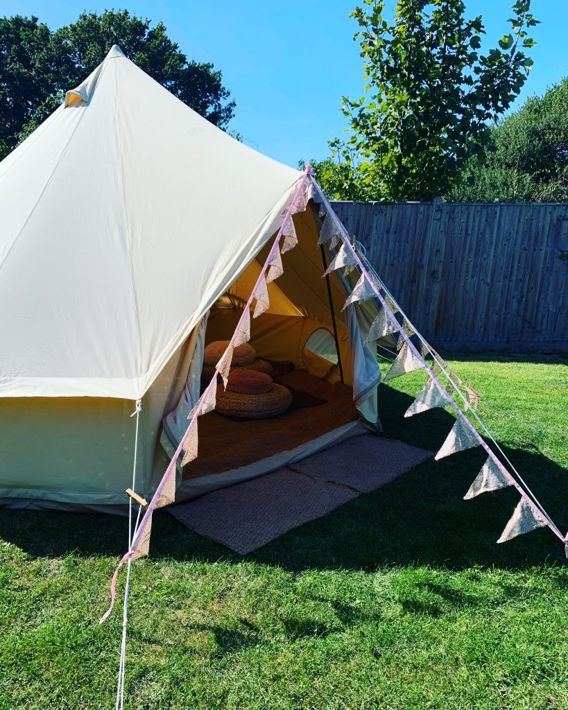 Chill Out Bell Tent Hire Sussex