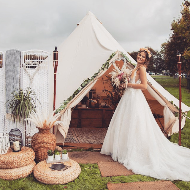 Wedding Bell Tent Hire Sussex
