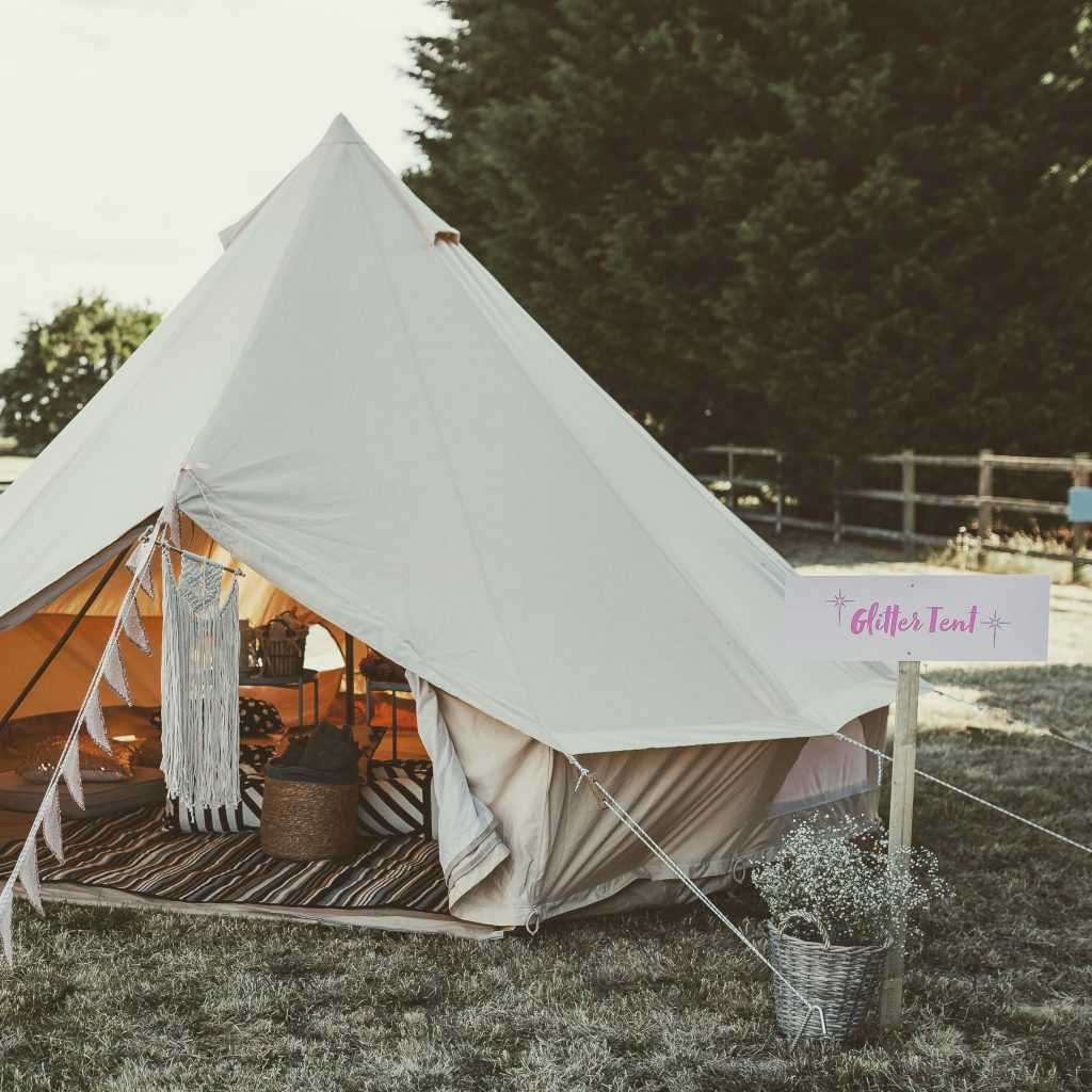 Hen Party Bell Tent Hire Essex