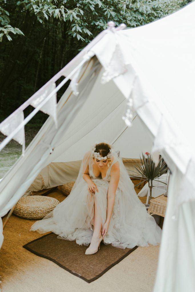 Woodland Wedding Bell Tent Hire Kent