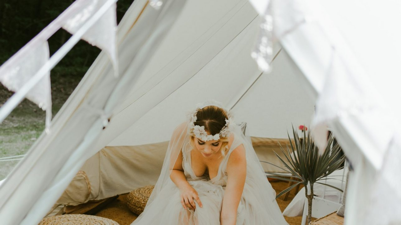 Woodland Wedding Bell Tent Hire
